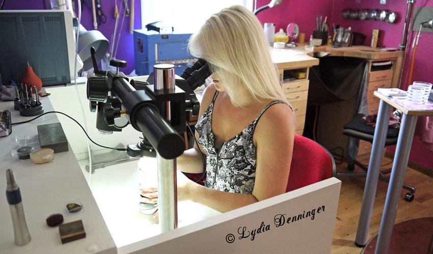 Ausrichtung Mikroskop