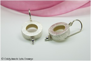 Ohrhänger Silberrad 925/- Silber
