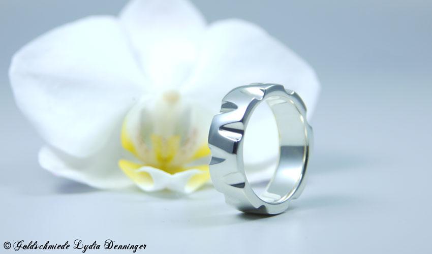 Massiver Ring 925 Silber