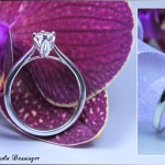 Verlobungsring 925 Silber mit Bergkristall