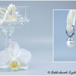 Perlenanhänger mit Clipverschluß