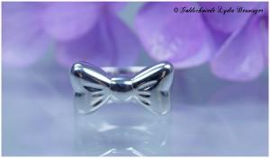 Schleifenring 925/- Silber