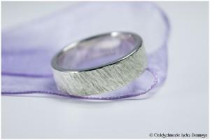 Silberring 925/- strukturiert