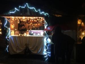 Mein Verkaufsstand auf der Türkenfelder Bergweihnacht 2015