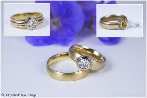 Umarbeitung Damen-Ehering / Neuanfertigung Herren-Ehering
